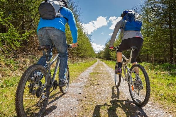 Mountain Biking trails nearby and secure storage at Rivercatcher