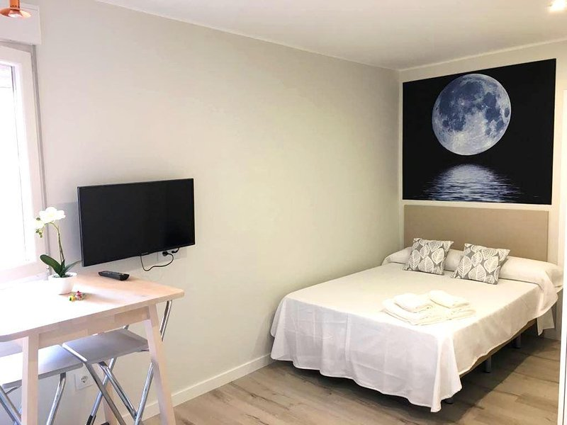 Acogedor Estudio Luna - Pontevedra Centro, holiday rental in Marin