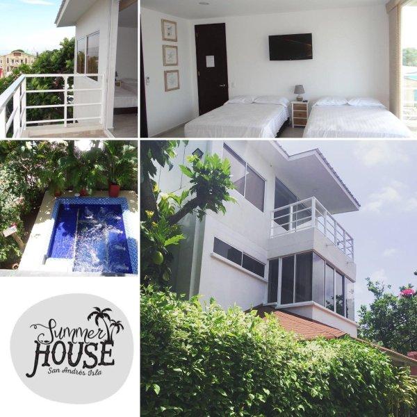 Hermosa casa para disfrutar la Isla de San Andres