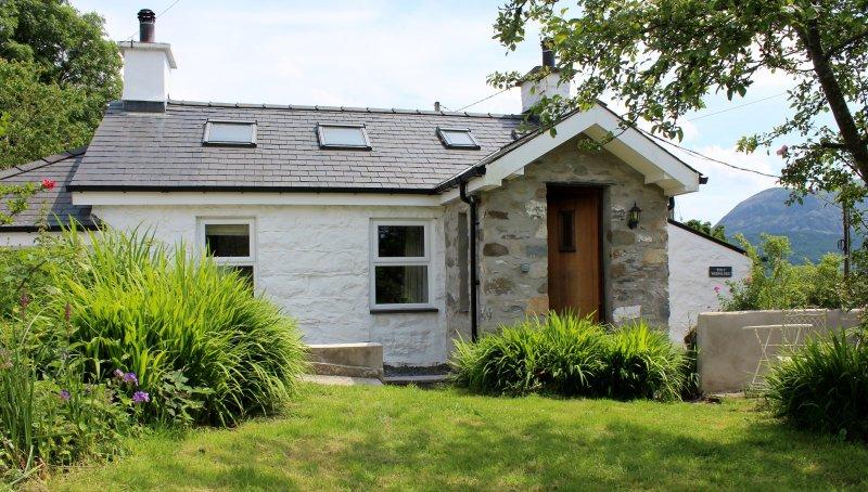 Modernisé chalet traditionnel gallois avec jardin privé et son propre bois