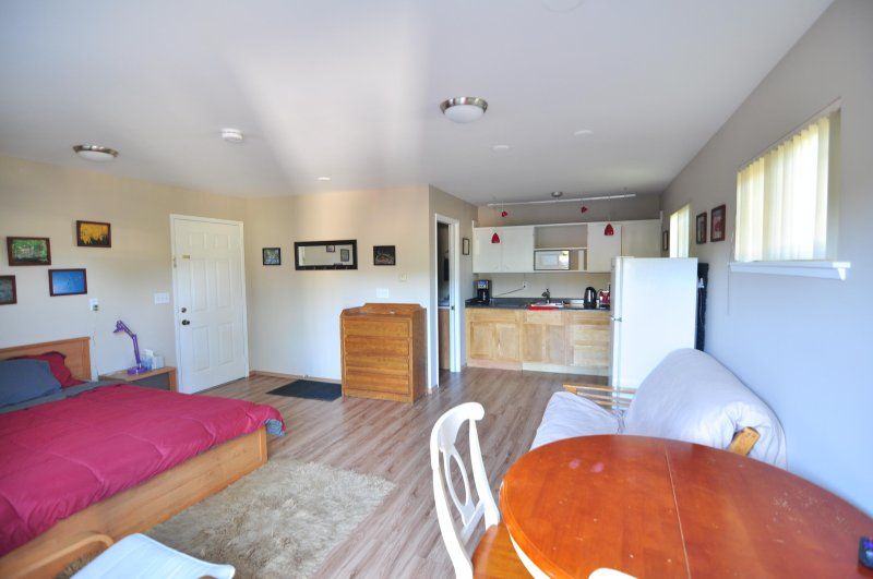 The cottage has everything you need for a home base while you explore Belllingham