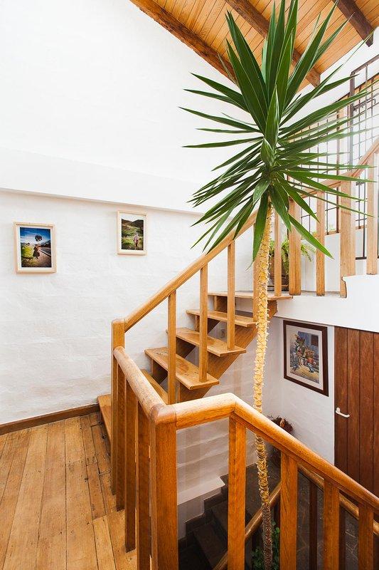 Escaleras a la terraza
