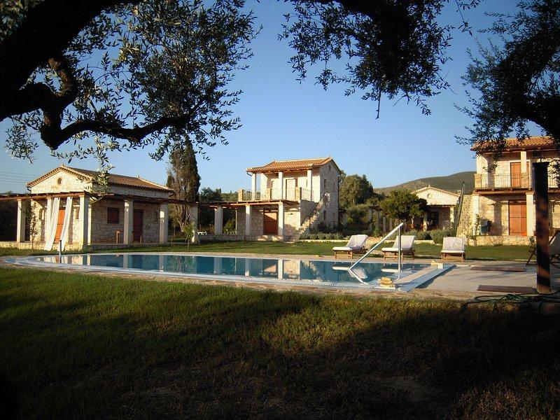 Tria Pigadia Village Casa Zakynthos 6 persone, location de vacances à Porto Koukla