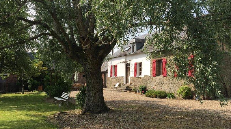 La Ferme du Gaillon, location de vacances à Montroty