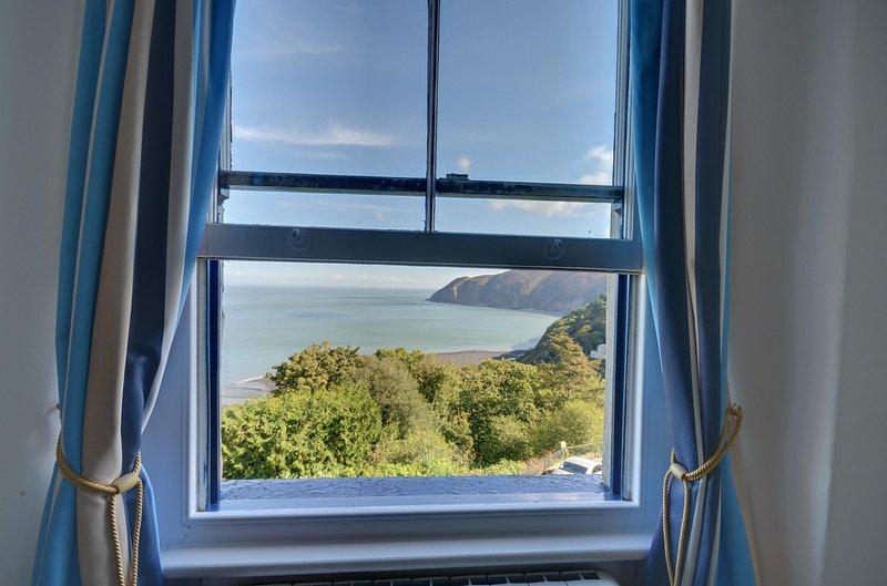 Vue sur la mer Appartement donnant sur Lynmouth Bay