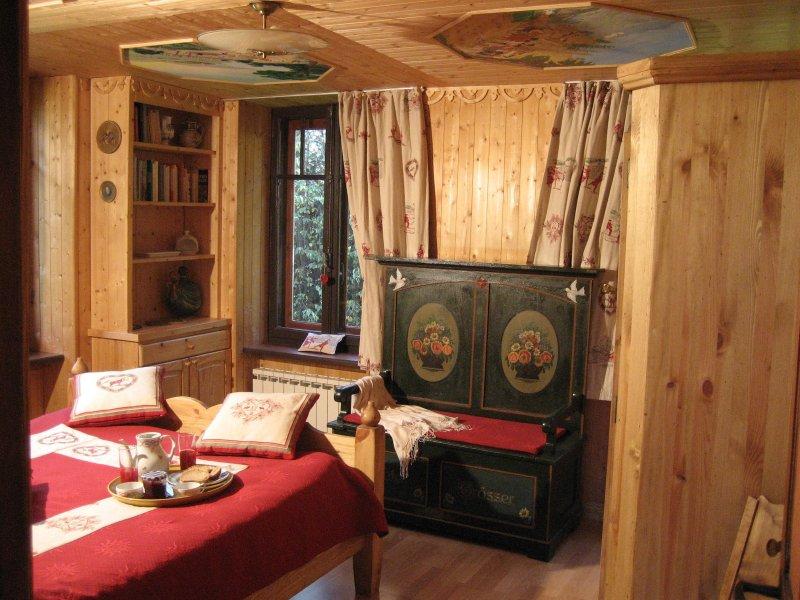 Chalet typiquement savoyard, location de vacances à Les Bossons
