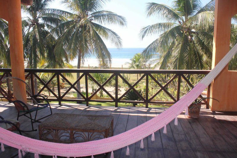 Affordable Beachfront/Garden Paradise, vacation rental in Puerto Escondido