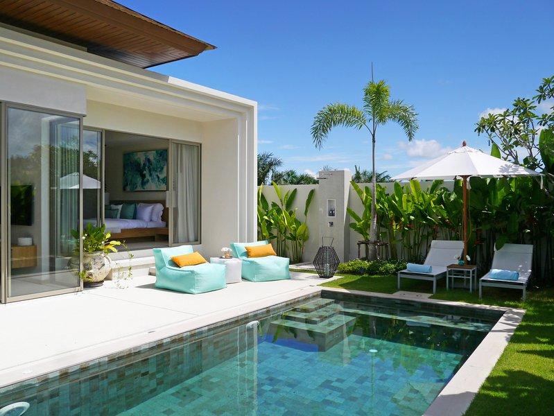 bang tao villa with pool