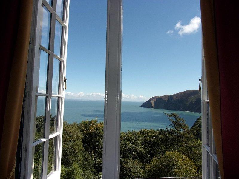Master bedroom seaview