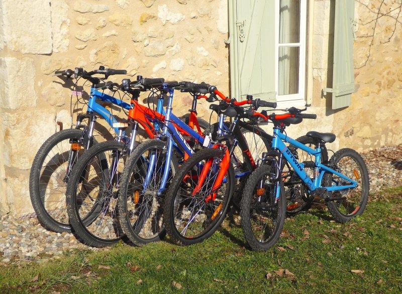 Las bicicletas están disponibles para alquilar de forma gratuita