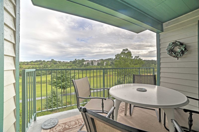 You'll feel right at home in this vacation rental condo in Branson, Missouri.