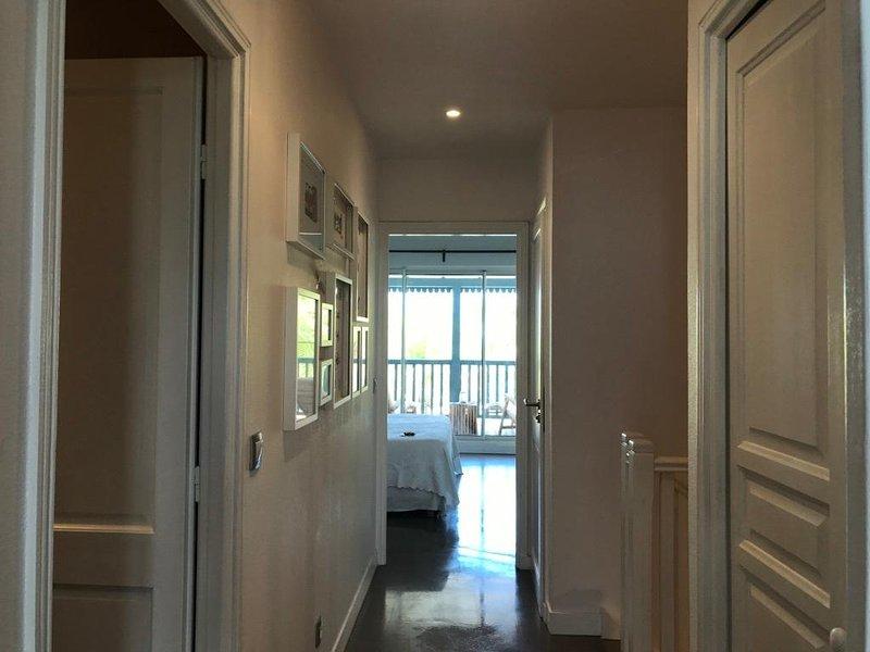couloir entre les 2 chambres