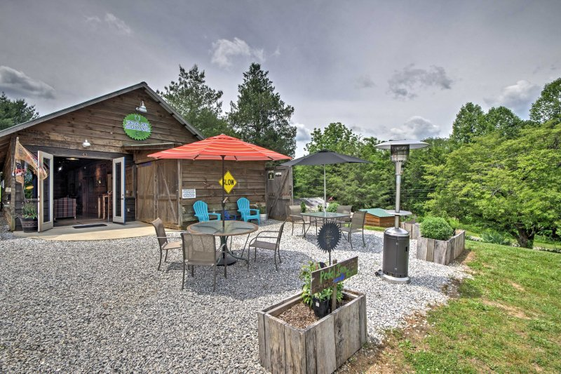 This one-of-a-kind home is a rustic horse barn that has been lovingly updated.