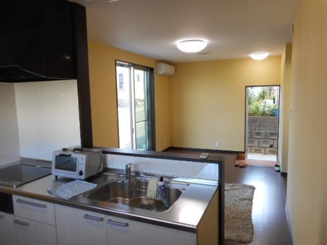 cuisine et salle de séjour Crean