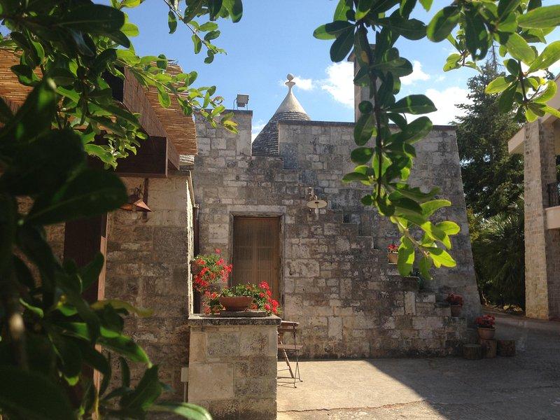Trullo Galeotto, holiday rental in Crispiano