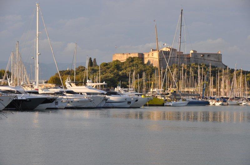 Fort Carré und der Port Vauban