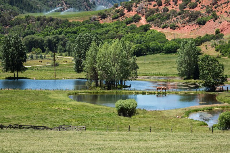Cap-K Ranch privately owned ponds