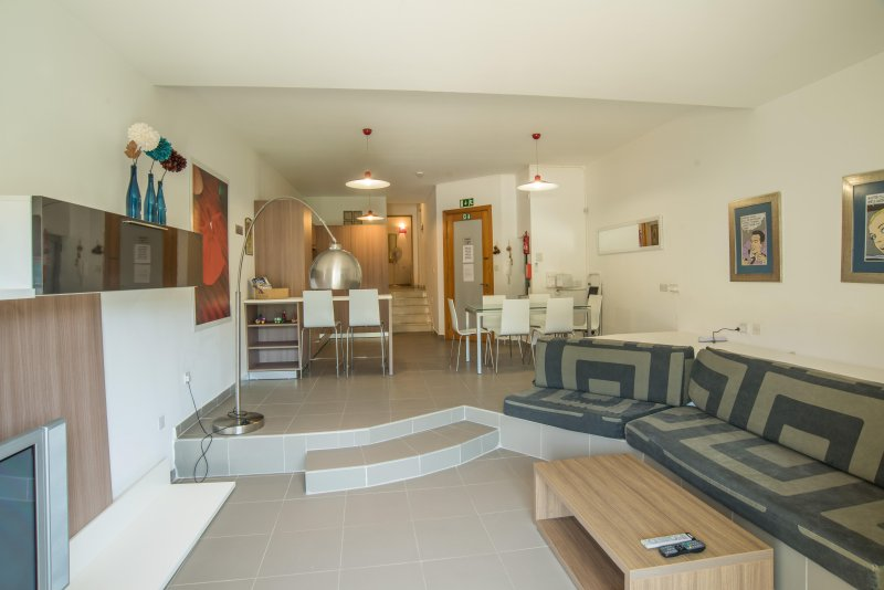 Living / Kitchen / Dining / Breakfast combined. Airconditioned. Kitchen is fully equipped.