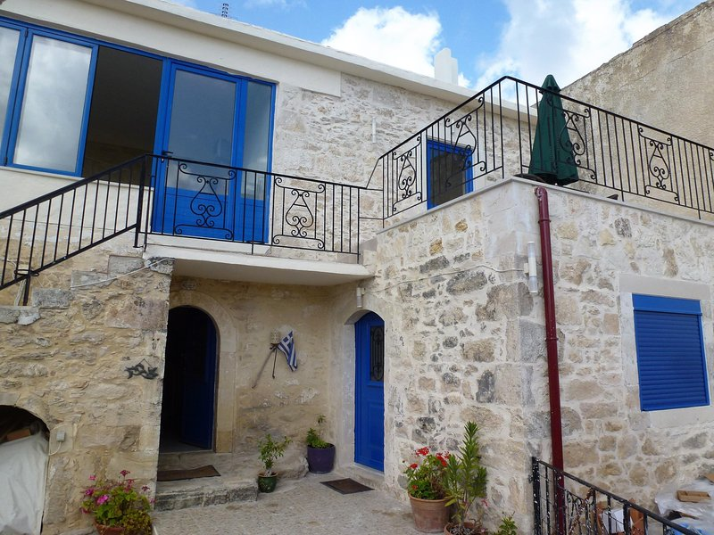 The Arches Eleftherna. A newly renovated traditional village house with the comfort of modern living