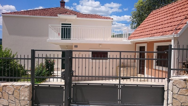 Street view on front gate