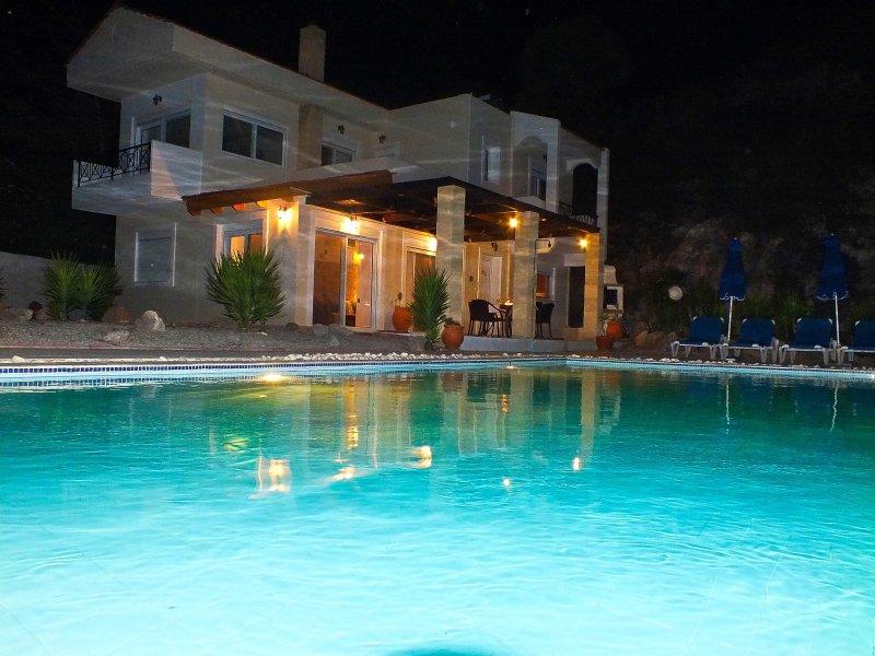 Villa Odysseus Evening