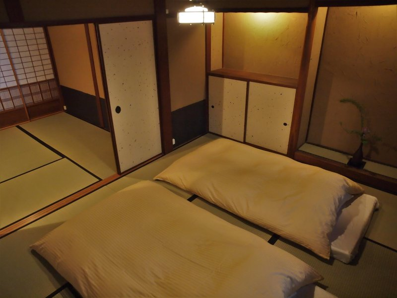 2nd floor bed room. Can be separated by fusuma(paper sliding door)