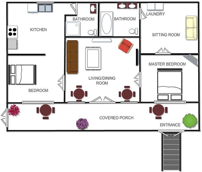 Floor play layout