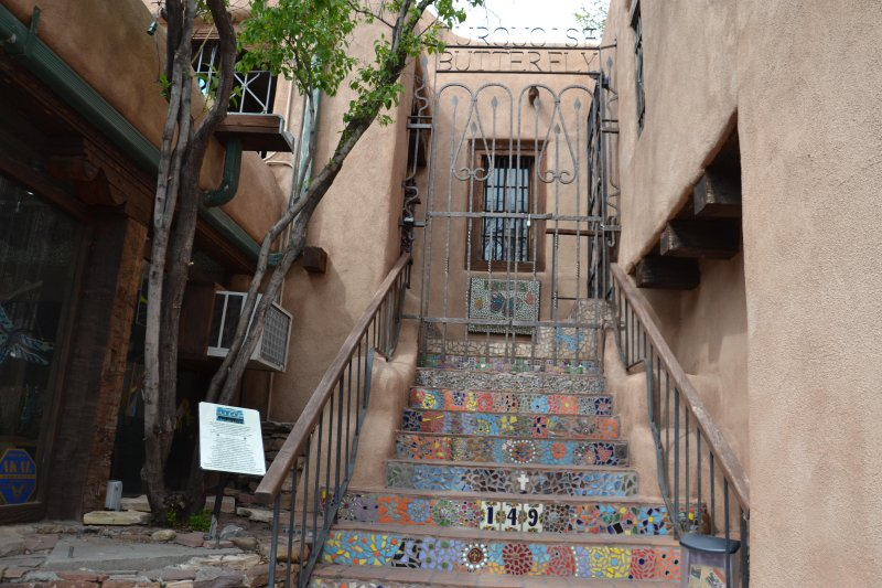 A stairway to Heaven---up to Casita Turquoise!