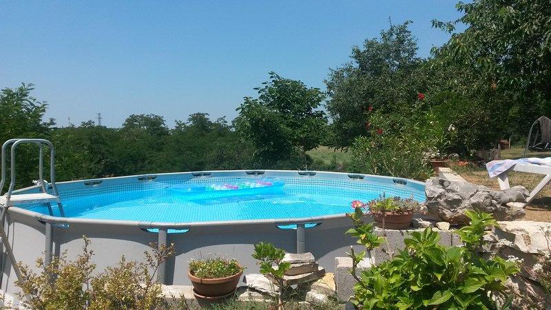 erfrischender Pool