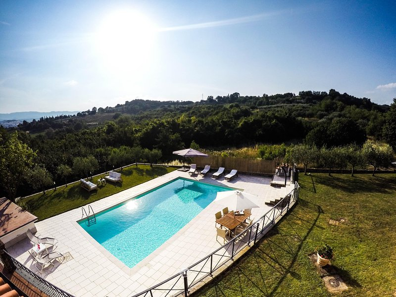 Villa il Cipresso, holiday rental in San Giovanni Valdarno