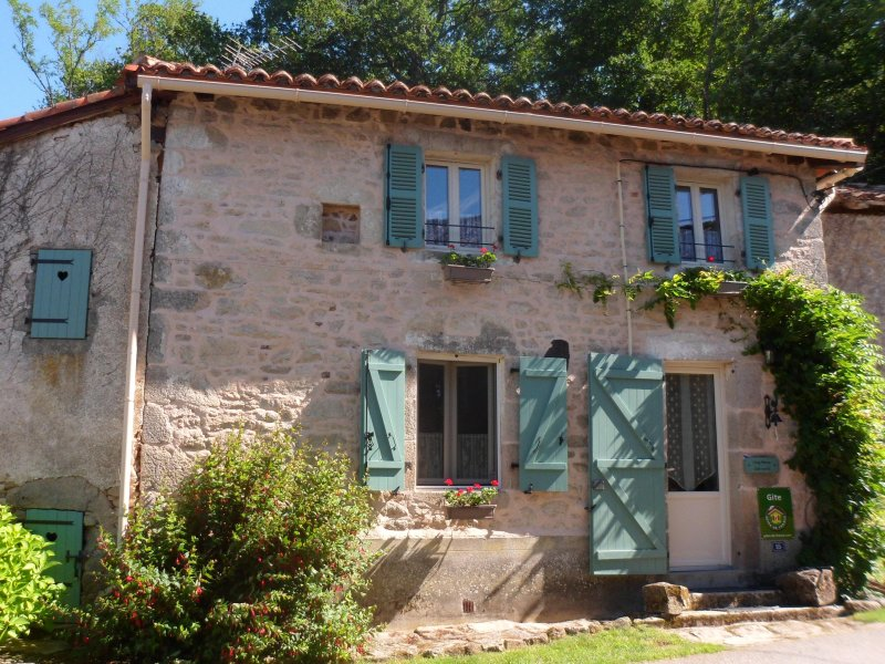 Typical stone village house dating from 1773.