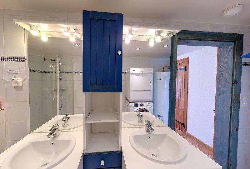 Fußboden im Badezimmer