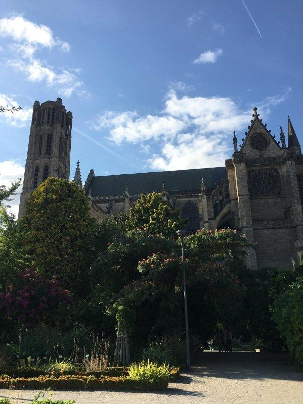 La cathédrale de Limoges.