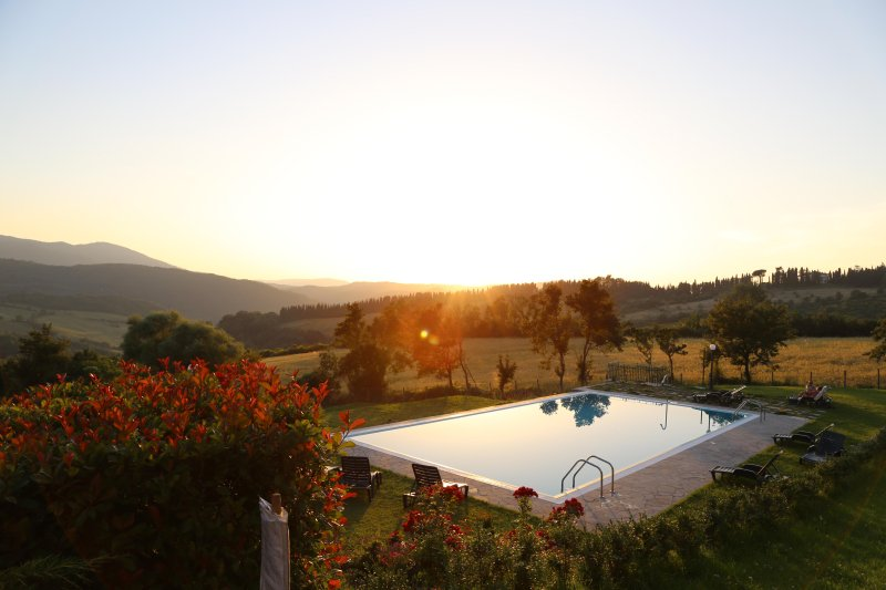 Panoramic Home in historical building with air conditioning and fantastic pool, holiday rental in Pratolino