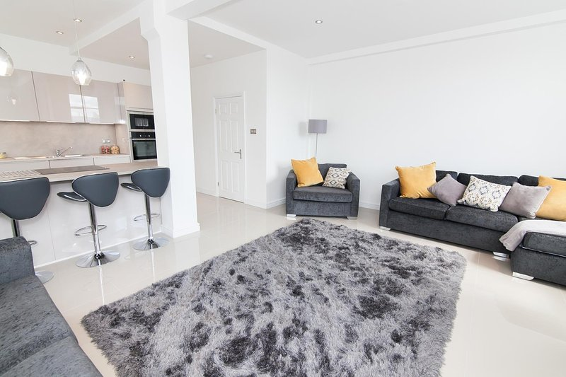 Large, Modern Manchester city centre apartment, vacation rental in Manchester