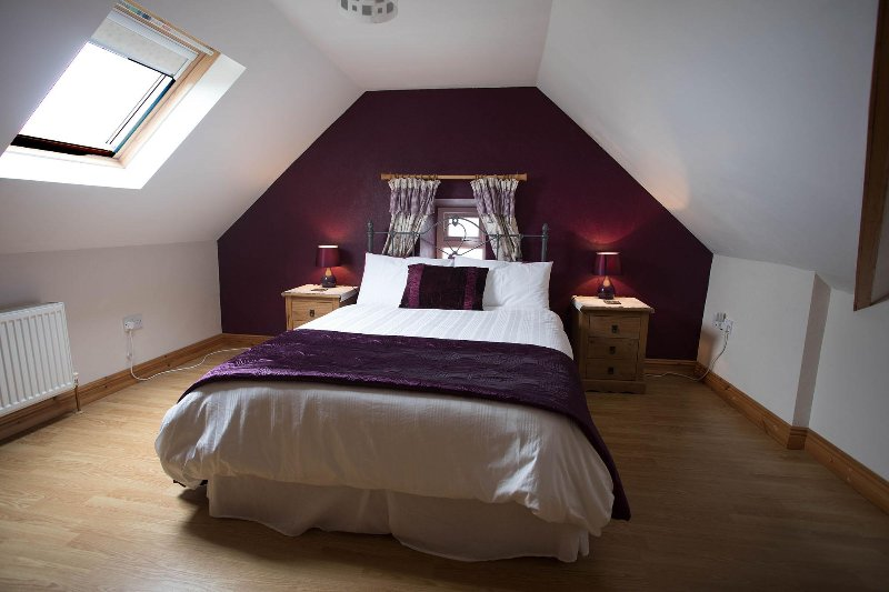 One of the double bedrooms on first floor