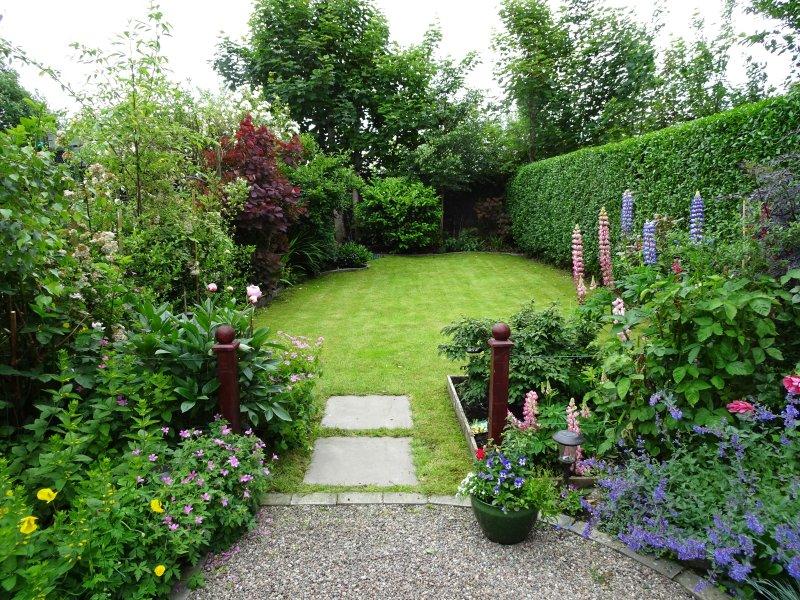 Giardino d'estate.