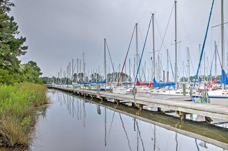 Rendez-vous sur le nord-ouest Creek Marina et découvrir des opportunités passionnantes!