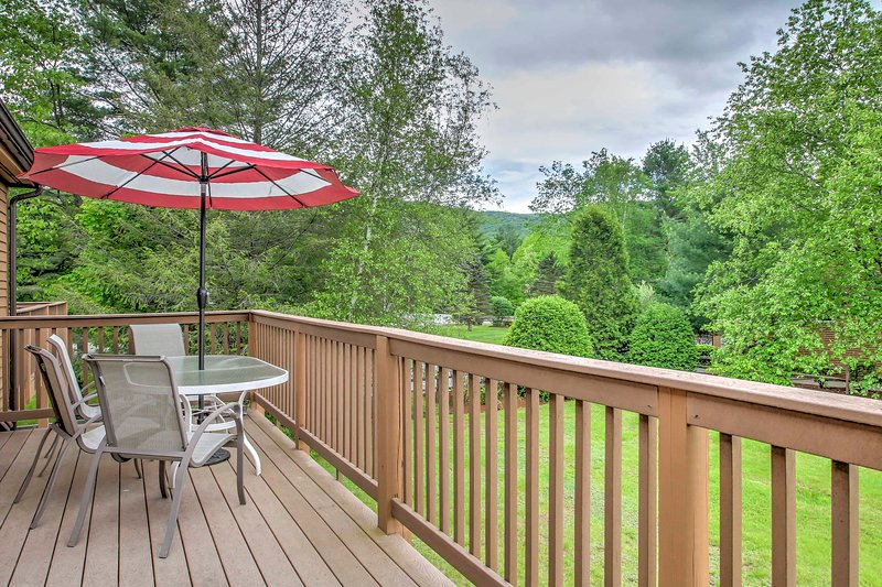 Relax & enjoy mountain destination views from this Lincoln vacation rental home!