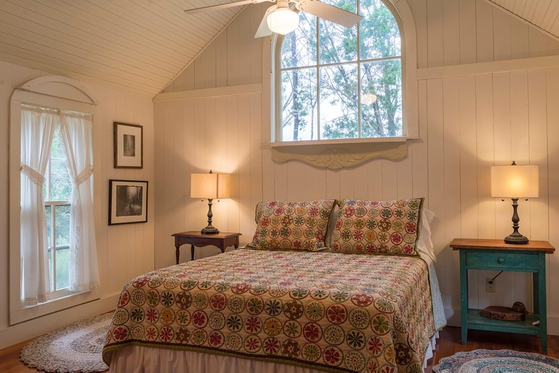 The Cabin, main bedroom.