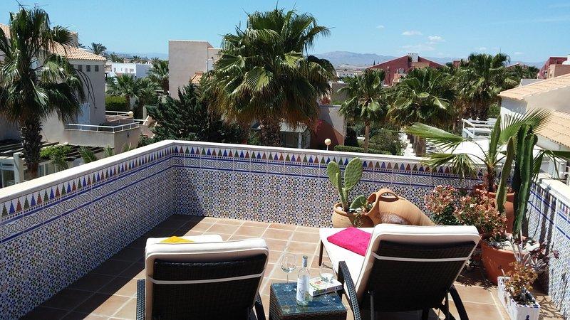 Casa Cielo Azul Vera Naturista is 100 feelgood in Vera Playa, alquiler vacacional en Playas de Vera