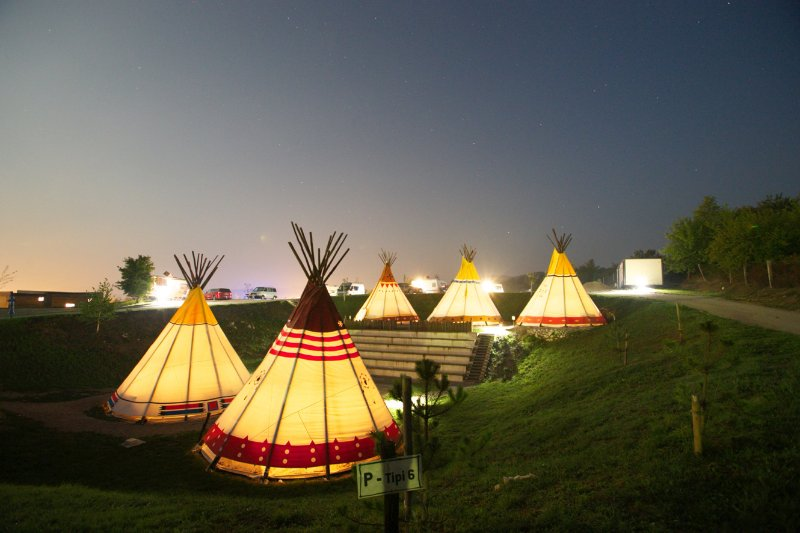 Indian Village Tipi Tent, holiday rental in Grabovac