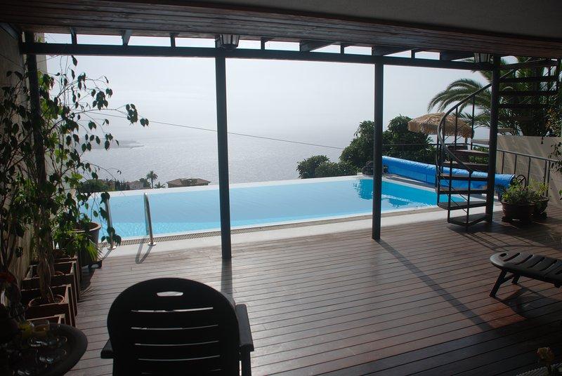 Villa Con Magnificas Vistaheatable Poolfree Wifibbq, holiday rental in La Victoria de Acentejo