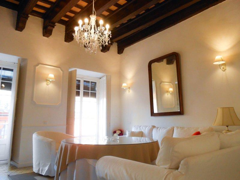 Apartamento 100m2 (Casa palacio Morla-Melgarejo), holiday rental in Jerez De La Frontera