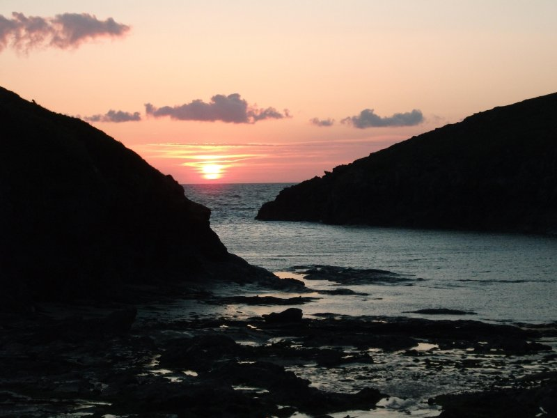 Sunset at Port Quin