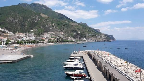 A view of Maiori - Amalfi Coast