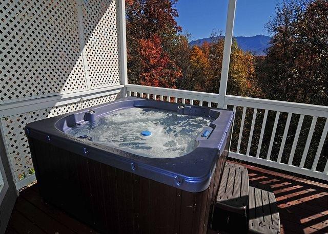 Hot Tub Lower Level