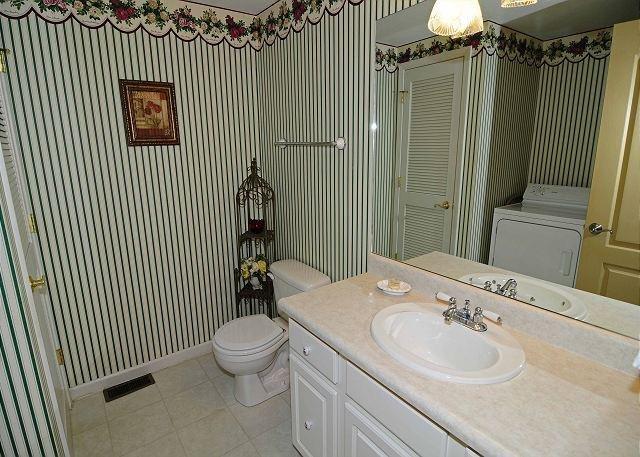 Half Bath & Utility Room Lower Level