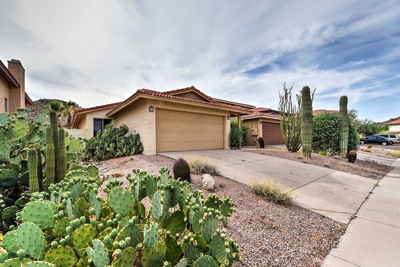 For the ultimate Phoenix getaway, book this beautiful vacation rental house!