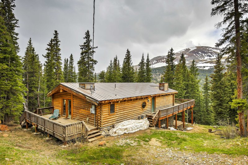 Elevate your Rocky Mountain experience when you stay at 'Bear View Lodge!'